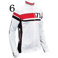 uv t-shirt - Brand Cycling T shirt High Quality Gorgeous Long Sleeve Cycling Tops Colorfast Breathable Mens Cycling Jerseys Size from S to XL