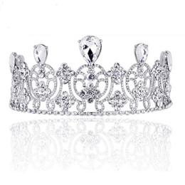 تيجان ملكية  امبراطورية فاخرة New-royal-rhinestone-crystal-tiara-crown
