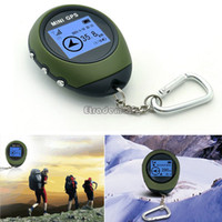 Wholesale Handheld Keychain PG03 Mini GPS Navigation USB Rechargeable For Outdoor Sport Travel SV000744 b003