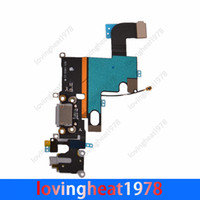 Wholesale 50 free DHL EMS shipping original Dock Connector Charger Flex Cable For iphone plus charging flex dock flex cable
