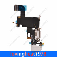 Wholesale 100 free DHL shipping original Dock Connector Charger Flex Cable For iphone plus charging flex dock flex cable