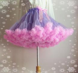 2018 Colorful Rainbow Bridal Petticoats Girl Slips Skirt Halloween Lolita Cos Maid Dress Pannier Wedding Accessories Bustles Crinoline