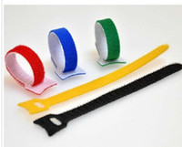 computer power cable - 50pcs X150MM Cable Ties nylon strap Power Wire Management Marker Straps Velcro Velcro Cable Ties computer Cord