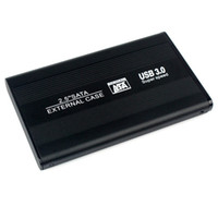 Wholesale Brand New quot USB HDD Case Hard Drive SATA External Enclosure Box Black D5242A