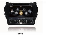 hyundai ix45 - OEM for Hyundai Santa fe IX45 Car DVD Player With GPS Navigation free Map Radio AM FM Stereo System Bluetooth