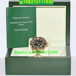 Wholesale factory seller High quality low price with original box and certificate II Gold Uhr Keramik Box