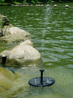 jet pump - Solar fountains solar pump small garden fountain rockery pond water fountain V W multi jet outdoor landscape with a fountain