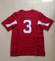 Cheap ARI #3 Jersey 2014 Red Elite American Football Jerseys Man American Football Stitched Jersey Authentic On Field Jerseys NWT