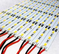 Wholesale 5630 LED M LED Bar Light Strip Non waterproof Cool White Warm White meter DC V Hard Strip Aluminium led lighting