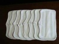 shark steam mop - NEW Replacement Pads For Shark Steam Mop Microfiber Machine Washable Cloths White Color