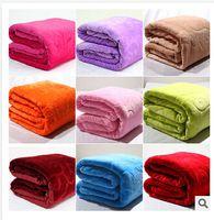 Wholesale 16 styles blanket thickening flannel blanket household air conditioning FL velvet sheets towel coral fleece blanket C595