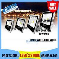 Wholesale Waterproof IP66 Led floodlight RGB IR Control W W W W Led Bulb V LED lighting outdoor light lamp Warm white