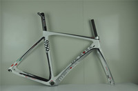 Wholesale Colnago c59 de rosa white road frame super light carbon road biycle bike frame