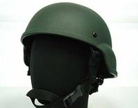 ach helmet - Airsoft MICH TC ACH Light Weight Helmet OD free ship