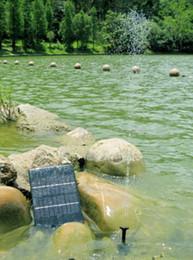 Wholesale Solar water pump solar fountain water pump aquarium small fountain solar water jets pool rockery garden fountains Garden Fountain