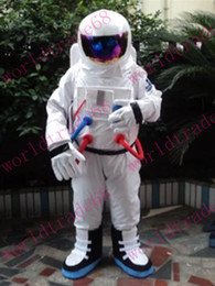 High Quality Space suit mascot costume Astronaut mascot costume with Backpack with LOGO glove,shoes