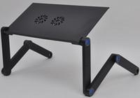 laptop desk - Hot New Drop Shipping ups dhl highly humanized notebook computer desk Adjusting laptop table foldable desks foldable laptop desk