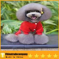 bear usa jackets - Hot Sale Dog Clothes Pet Autumn Winter Clothes USA Cotton Fleece Clothes Than Teddy Bear Schnauzer