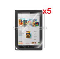 Cheap Retail Package 5pcs lot Matte Screen Protector Films Matted Anti-glare Protective Film Guards for Barnes & Noble Nook HD+ 9 8.9