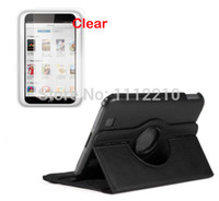 Cheap 2in1 360 Degree Rotating Folio Stand Rotation Leather Case Cover for Barnes & Noble Nook HD 7 HD7 7