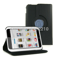 Cheap New Rotary 360 Degree Rotating Folio Stand Rotation Leather Case Cover for B&N Barnes & Noble Nook HD 7 HD7 7