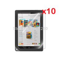 Cheap 10pcs lot Clear LCD Screen Protector Films Protective Film Guards for B&N Barnes & Noble Nook HD+ 9 8.9