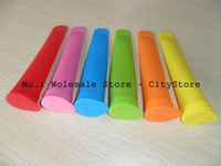 Cheap Free Shipping 100pcs lot Non-sticky silicone ice pop maker silicone ice pop mold Push Up Ice Cream Lolly Pop For Popsicle