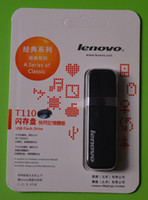 Wholesale Lenovo t110 GB GB GB USB Flash Drive USB2 China Memory Stick Flash with Stainless Steel