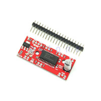 Cheap W110Selling 1PC EasyDriver Stepper Motor Driver V44 A3967 Stepper Motor Driver Board For Arduino