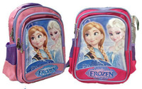 Wholesale Children school bags frozen cartoon backpack Anna Elsa backpack p l