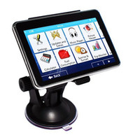 options - 4 quot Car GPS Navigation Navigator Bluetooth AV option FM Multilingual Win CE free newest map