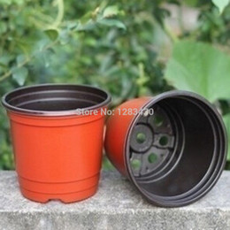 Plastic Flower Plant Nursery Pots for Plants, Cuttings & Seedlings Indoor Planter Pots Diameter 90mm Free Shipping