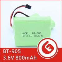 Wholesale BT NI MH V mAh NiMH Rechargeable Cordless Telephone Battery for Panasonic KX A36 HHR P P501 P P504 factory export