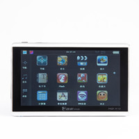 Wholesale 7 quot Car GPS Navigation Navigator Win CE free newest map without Bluetooth AV IN