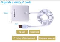 atm card reader - Magnetic stripe card reader writer ATM card reader emv card writer