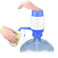 Cheap E74 Free Shipping 5 Gallon Bottled Drinking Water Hand Press Manual Pump Dispenser New