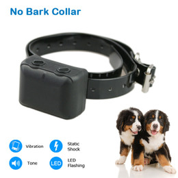 Wholesale cheap pet products for dog free control devices Automatic Anti Barking Collar Rechargeable Waterproof e collar