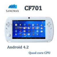 Wholesale RK3188 Cortex A9 GHZ Quad Core quot Android tablet console player pixel