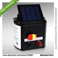 Wholesale Sheep Goat Cattle Horse Rabbit Poultry Solar Electric Fence Energiser Charger