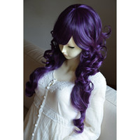 Cheap WigTimeNew Arrival Duchess Style Heat Friendly Long Curly Wavy Princess Cosplay Party Hair Wig 31'' 80cm