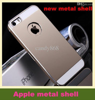 Cheap cheap - Following from the new metal shell iphone5s bumpers apple 4 metal wholesale mobile phone sets of DHL free shipping