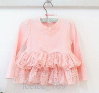 Sample 1pc Retail baby girl kids princess long sleeve floral...