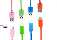 Cheap DHL cheap DHL - 2014 Colorful Micro USB Charger Cable 1M 3FT Universal Cord Lead for HTC ONE X Samsung Galaxy S3 S4 NOTE 2 NOTE 3 S5