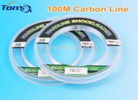 Wholesale ilure Leada Fluorocarbon Fishing Lines m Spool Various Line Diameters