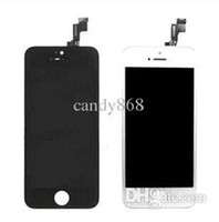 Cheap cheap - - Black White LCD Display & Touch Screen Digitizer Full Assembly for iPhone 5S Replacement Repair Parts