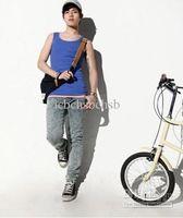 Wholesale Cheap Handbags Swagger Canvas Bag Men Summer Black Blue White Colors B8