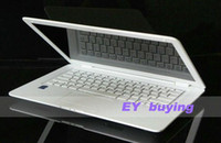 Wholesale DHL inch windows laptop Intel D2500 Ghz Dual Core GB RAM GB HDD Support Multi Language russian OS Keyboard