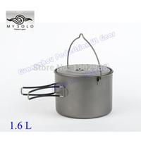 Wholesale Titanium ultralight L outdoor hang pot