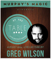 Wholesale At the Table Live Lecture Greg magic teaching video Close up magic send via email