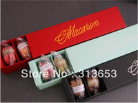 Wholesale new arrival macaron container chocolate box candy packaging macaron decorations cupcake box